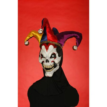 Wicked Evil Jester Adult Costume - Wicked Jester