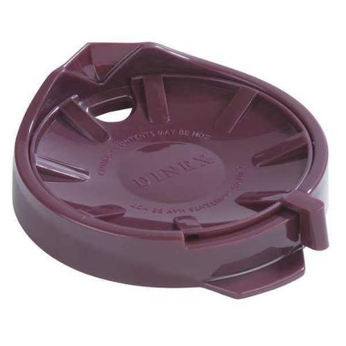 CARLISLE DINEX DX115661 Replacement Lid,1-7/64in,Cranberry,PK12 G0169989