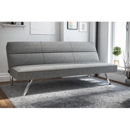 DHP Kebo Deluxe Memory Foam Futon, Multiple Colors