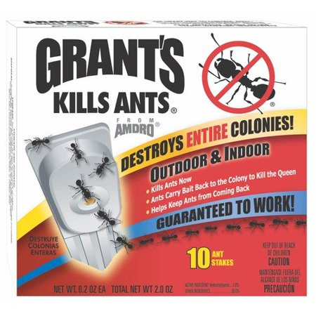 grant 39 s kills ants ant bait stake. Black Bedroom Furniture Sets. Home Design Ideas