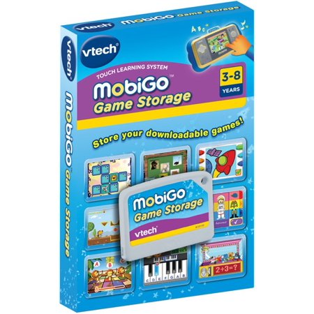 Vtech MobiGo Game Storage - Downloadable Games Cartridge: Stores Up to 30