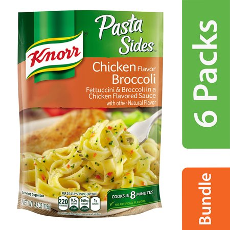 (6 Pack) Knorr Chicken Broccoli Pasta Side Dish 4.2 oz