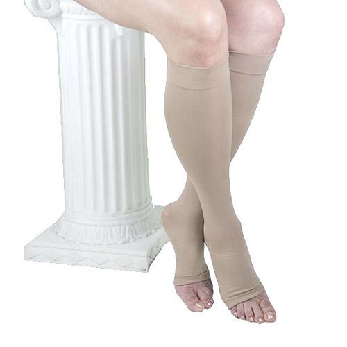 GABRIALLA Open Toe Knee Highs - Compression (25-35 mmHg): H-304(O)