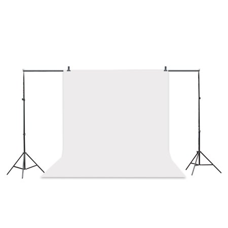 Zimtown 5x10 FT Screen 100% Non-woven Fabric Backdrop Photo Photography Background White - image 7 de 8