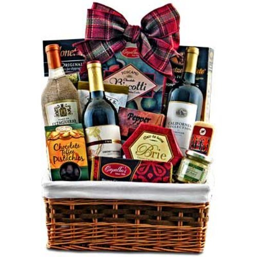 Cabernet & Cheese Picnic Gift Basket