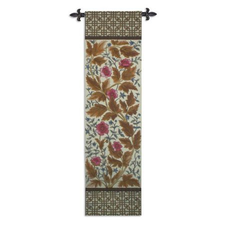 Needlepoint Anemone Wall Tapestry