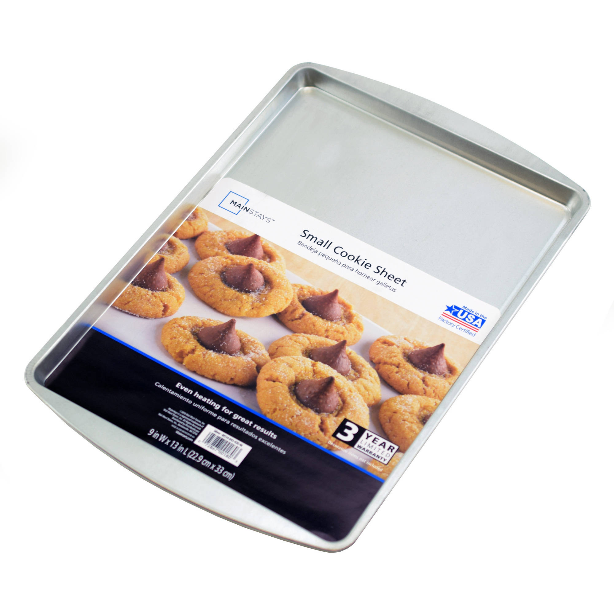 "Mainstays 13.2"" x 9.2"" Cookie Pan"