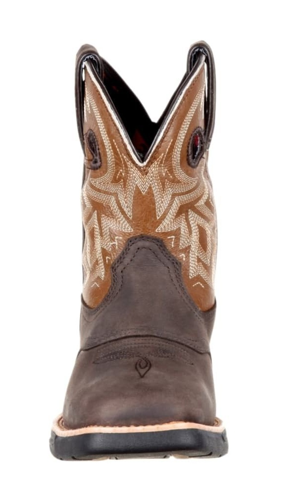 "Rocky Western Boots Womens 8"" Tobacco Square Pull On Brown Tobacco 8"" RKW0220 e8d419"