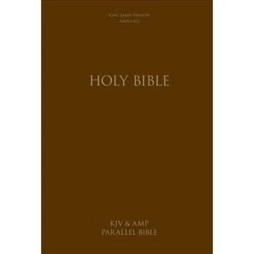 Holy Bible: King James Version & Amplified Side-by-Side, Large Print