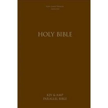Holy Bible: King James Version & Amplified Side-by-Side, Large Print by