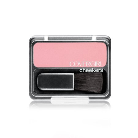 (2 Pack) COVERGIRL Cheekers Blendable Powder Blush, Natural Rose