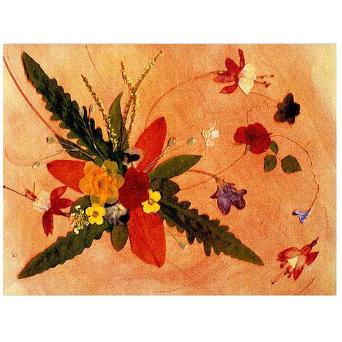 """Trademark Art """"Whirled Away"""" Canvas Art by Kathie McCurdy"""