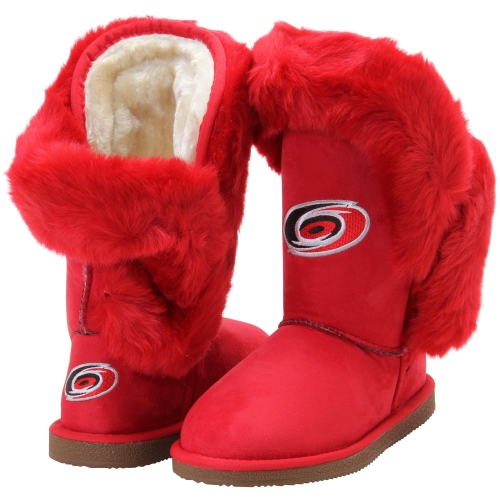 Carolina Hurricanes Cuce Women's Champions Boots - Red