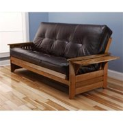 Kodiak KFPHBBOTJLF5MD3 Phoenix Barbados Full Futon Frame with Oregon Trail Java Mattress