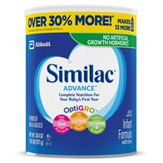 Similac Advance Baby Formula To Support Brain & Eyes, 6 Count Powder, 1.93-lb Can