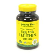 Nature's Plus Egg Yolk Lecithin 600 mg - 90 VCapsules
