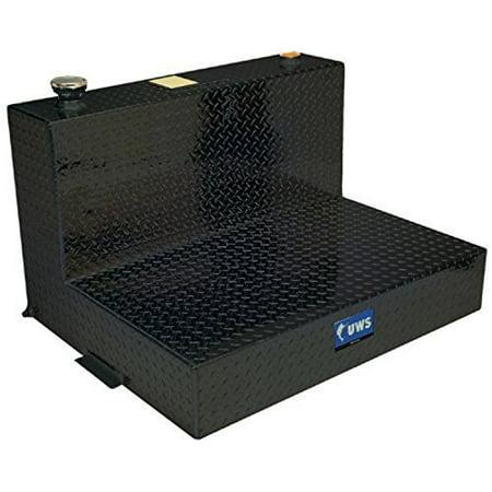 - UWS/United Welding Services TT-100-L-T/P-BLK UWSTT-100-L-T/P-BLK 100 GALLON L-SHAPED LIQUID TANK BLACK
