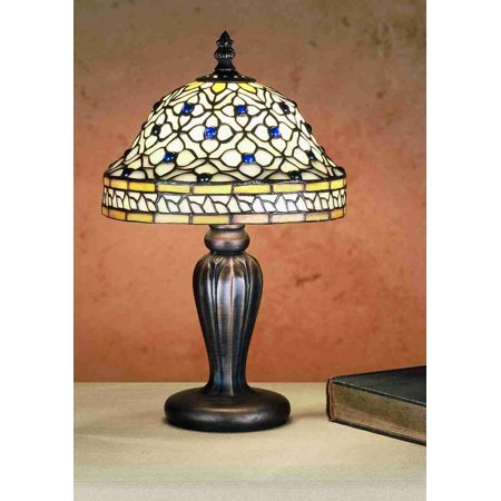 Meyda Tiffany Handkerchief (Meyda Tiffany 27535 Stained Glass / Tiffany Accent Table Lamp from the Tiffany Roman Collection)