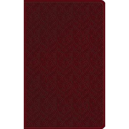Ardent Designs Vines - ESV Large Print Value Thinline Bible (Trutone, Ruby, Vine Design)