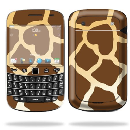 Black Giraffe Skin (Mightyskins Protective Skin Decal Cover for Blackberry Bold 9900 or 9930 Cell Phone wrap sticker skins)
