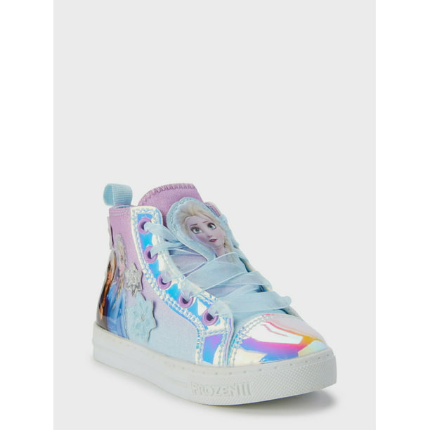 Disney Frozen 2 Anna & Elsa Snowflake High-Top Sneaker (Toddler Girls)