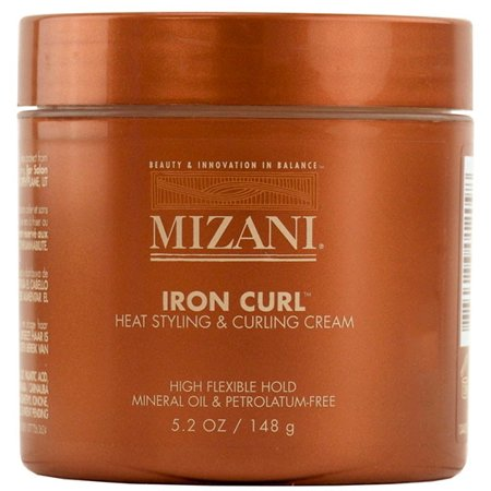 Mizani Iron Curl Heat Styling and Curling Cream - Size : 5.2 (Best Duck Curling Creams)