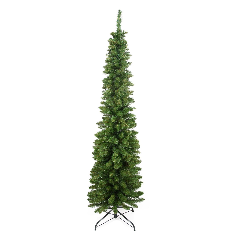 6 X 20 Quot Traditional Green Pine Pencil Artificial