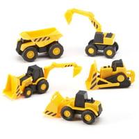 Adventure Force Mini Construction Service Vehicles, 5 Pieces