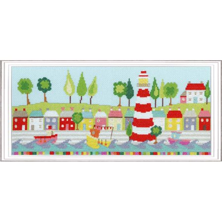Bothy Threads Funky Lighthouse Counted Cross-Stitch Kit