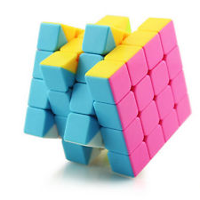 Rubiks Cube 4x4 Original Speed Brain Teaser Magic Smooth Puzzle Twist Game Toy