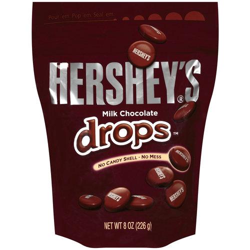 Hershey's Milk Chocolate Drops, 8 oz