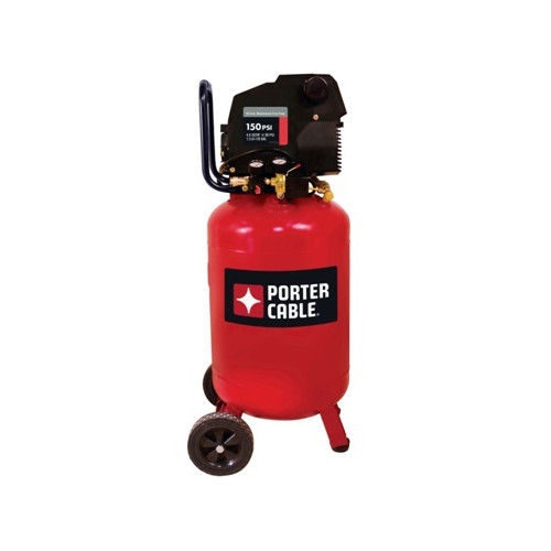 Porter-Cable PXCMF220VW 1.5 HP 20 Gallon Oil-Free Vertical Portable Air Compressor by PORTER-CABLE