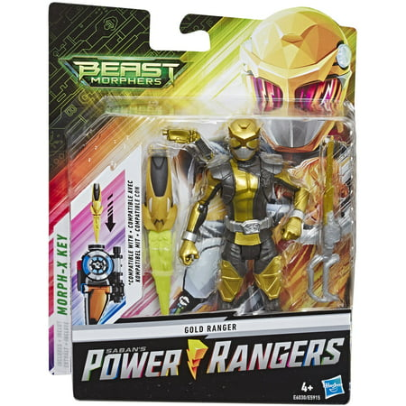 Power Ranger Colors (Power Rangers Beast Morphers Gold Ranger 6-inch Action Figure)