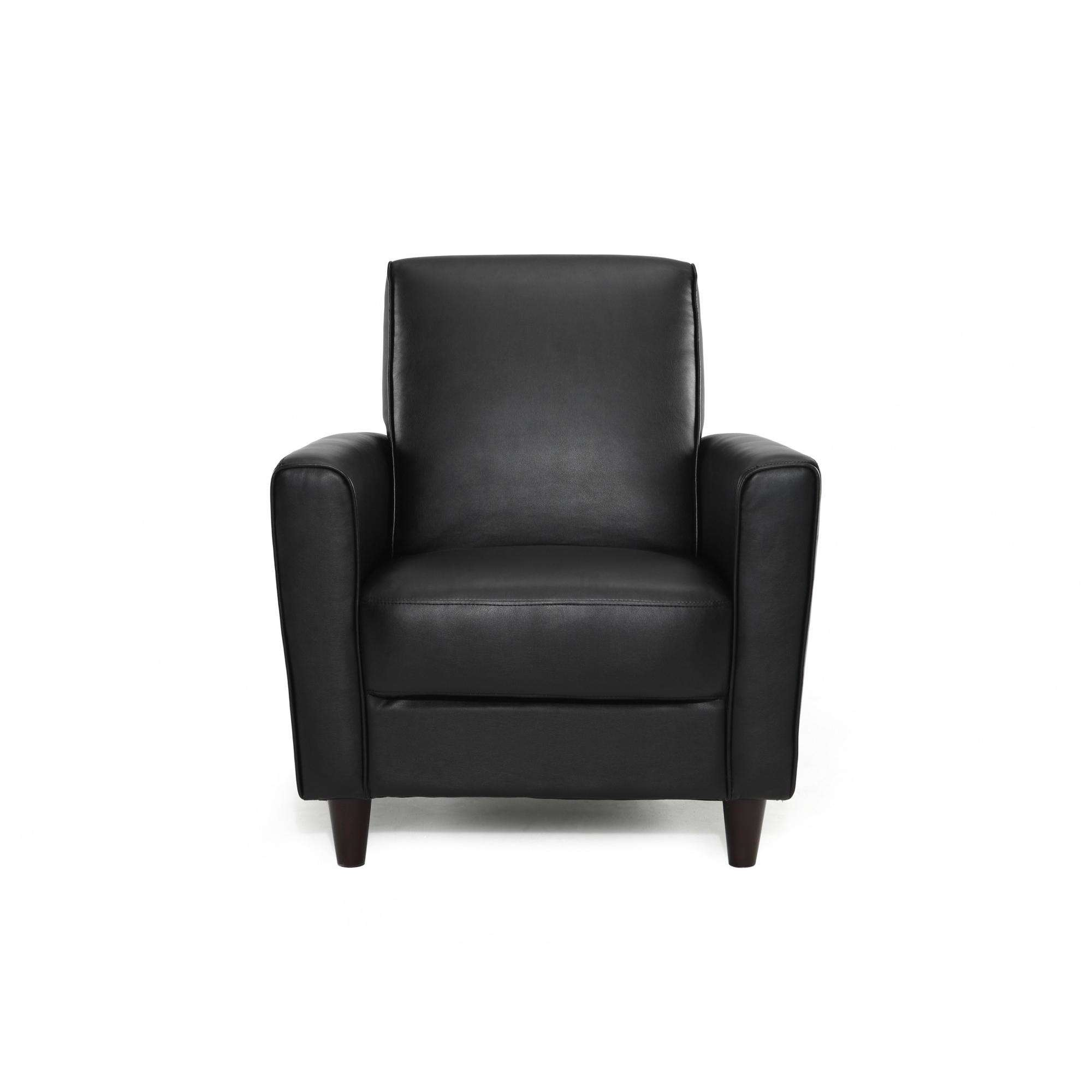 Product Image DHI Enzo Arm Accent Chair, Faux Leather, Multiple Colors