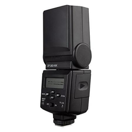 Vivitar Digital TTL Auto-Focus Flash for Nikon - Black (DF383NIK) - image 1 de 1