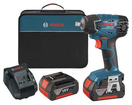Cordless Impact Wrench Kit,133 ft.-lb. BOSCH 24618-01 by Bosch