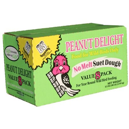 C&S Products Peanut Delight Suet Value Count, 8
