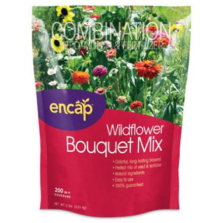 (Encap 10809-6 Wildflower Bouquet Mulch Seed)