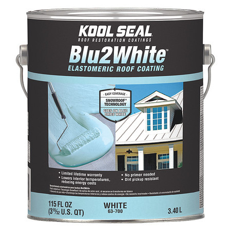 Premium Roof Coating,White,4.75 gal. KST COATINGS KS0063700-20
