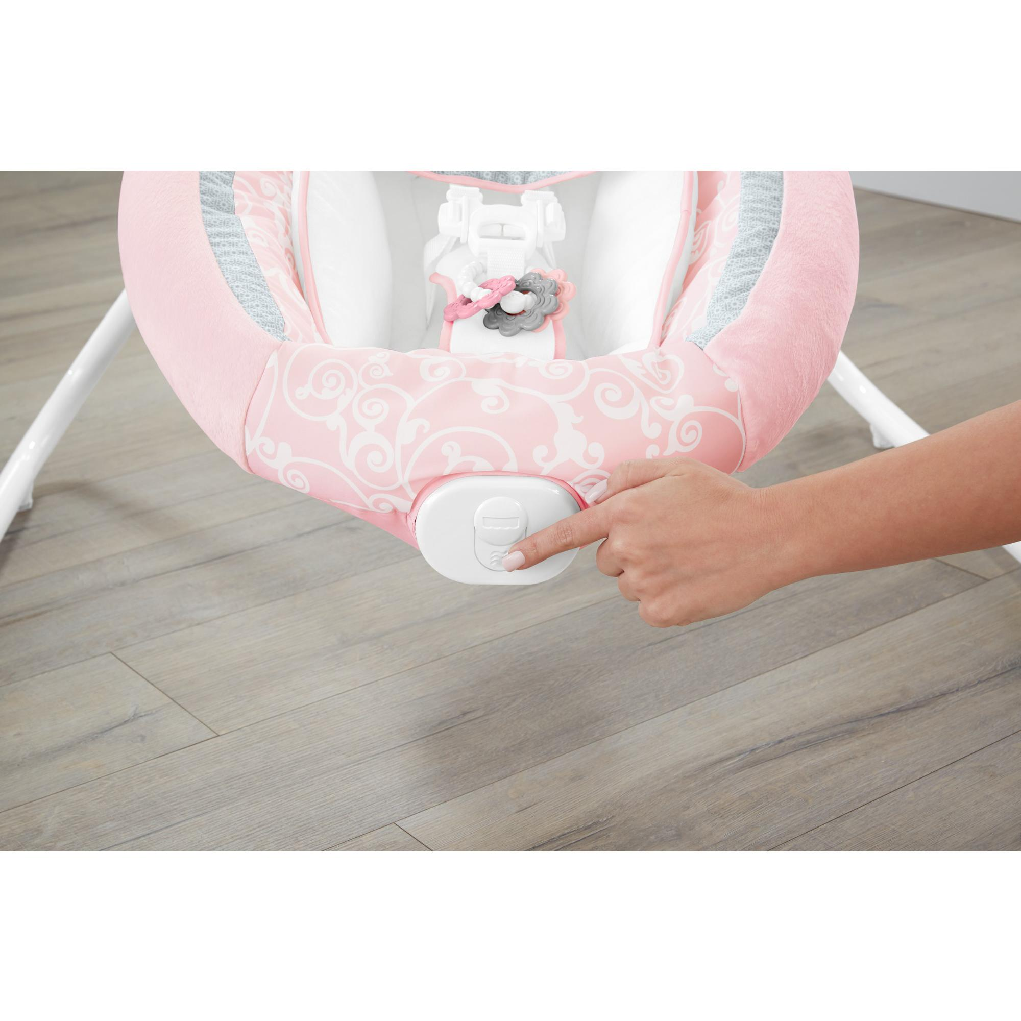 Fisher Price Pearl Chandelier Cradle 'n Swing, Pink by Fisher-Price