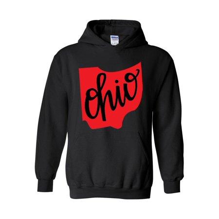 Ohio State Flag Unisex Hoodie Hooded Sweatshirt