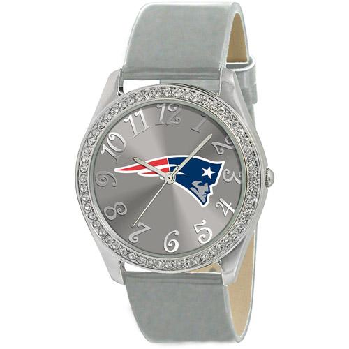 Game Time NFL Women's New England Patriots Glitz Watch, Strap
