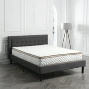 Modern Sleep Pillow Top Innerspring 10 Inch Mattress Multiple Sizes