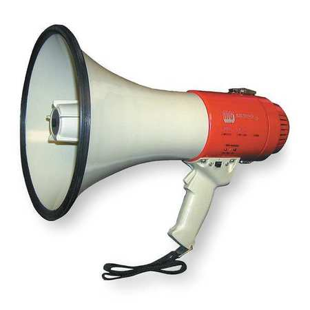 14-1/4 Indoor/Outdoor Megaphone, 3YML9