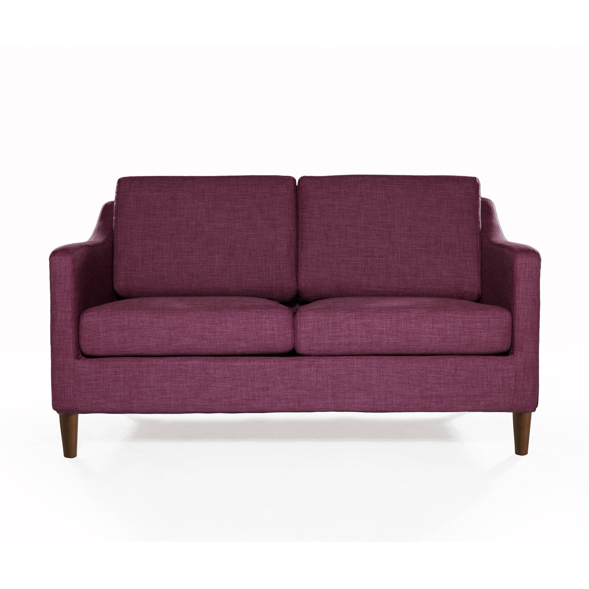 New better homes and garden griffin loveseat sofa wood legs multiple colors ebay Garden loveseat