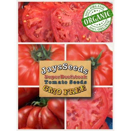 - Super Beefsteak (Heirloom) Tomato 200 Seeds