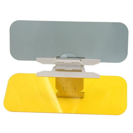 Unique Bargains HD Anti-Glare Universal Car Flip Down 2 in 1 Day Night  Vision Shield Sun Visor - Walmart.com dca4954327b