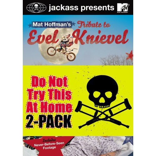 Jackass Presents: Do Not Try This At Home 2-Pack - Mat Hoffman's Tribute To Evel Knievel / Jackass The Movie (Widescreen)