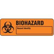 HARRIS Warning Label, 7/8 In. H, PK500 LB132288