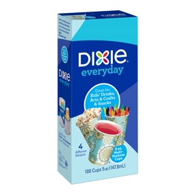dixie 5oz multi purpose paper cups